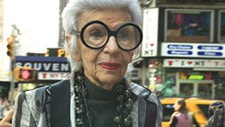"The ""rare bird of fashion"" Iris Apfel"