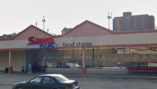 Former Save-A-Lot grocer in Duquesne - PHOTO: ©GOOGLE MAPS