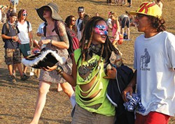 Fans at the All Good Music Festival in 2011 - PHOTO COURTESY OF RYAN SMITH