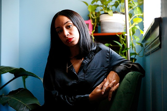 Tara Fay Coleman, at home - CP PHOTO: JARED WICKERHAM