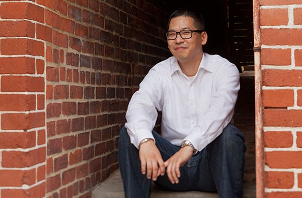 Robert Yune set his debut novel partly in his adopted city of Pittsburgh - PHOTO BY HEATHER MULL