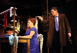 Let them entertain you: Kim Zimmer and Robert Newman in Pittsburgh CLO's Gypsy - PHOTO COURTESY OF ARCHIE CARPENTER