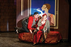 Rob James and Becki Toth in Stage 62's The Drowsy Chaperone - PHOTO COURTESY OF FRIEDMAN WAGNER-DOBLER