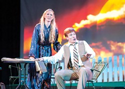 Lara Lynn Cottrill and Christopher Scott in A New Kind of Fallout - PHOTO COURTESY OF PATTI BRAHIM