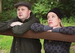 Eric Leslie and Jen Sinatro in Little Lake's Outside Mullingar - PHOTO COURTESY OF JAMES ORR