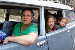 On a journey: Mark Ruffalo, Imogene Wolodarsky and Ashley Aufderheide