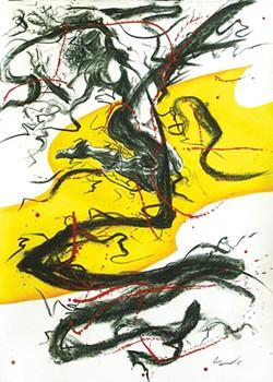 ART BY RICHARD CLARAVAL