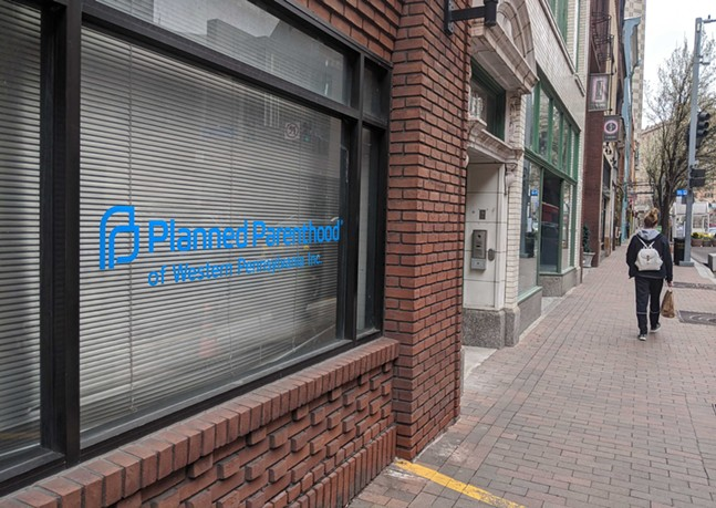 Planned Parenthood of Western Pennsylvania in Downtown Pittsburgh - CP PHOTO: LISA CUNNINGHAM