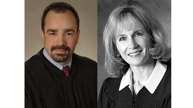 Commonwealth Court judges Kevin Brobson and Patricia McCullough