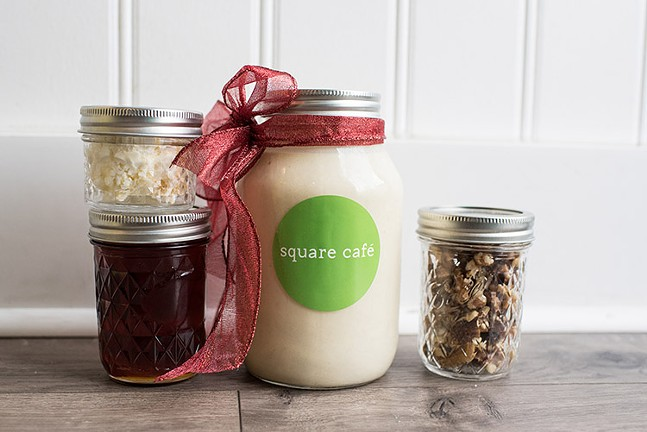 Holiday offerings from Square Café - PHOTO: ROSE COLORED CREATIVE
