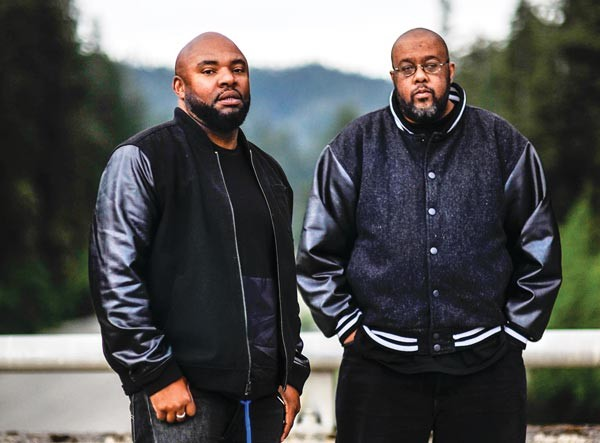 Blackalicious: DJ Chief Xcel (left) and Gift of Gab - PHOTO COURTESY OF B+