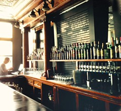 The bar at Station - PHOTO BY CELINE ROBERTS