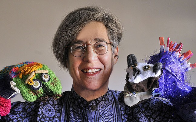 International Puppet Festival participant, Sherri Roberts - PHOTO: TOM SARVER