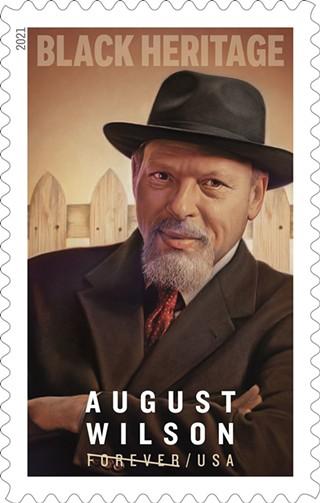 USPS August Wilson Forever stamp - UNITED STATES POSTAL SERVICE