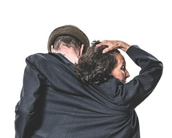 """Yvan Auzely and Beth Corning in a publicity photo for """"Beckett & Beyond"""" - PHOTO COURTESY OF HAKAN LARSSON"""