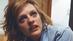 Troubled times: Elisabeth Moss