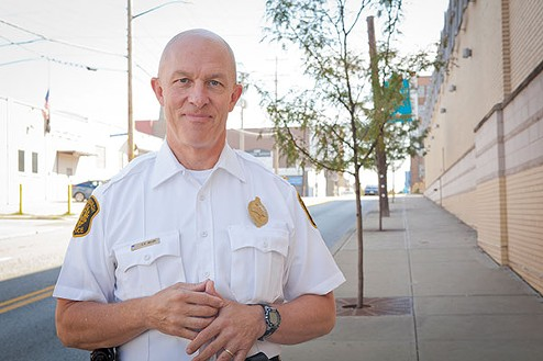 Pittsburgh Police Chief Cameron McLay - PHOTO BY HEATHER MULL