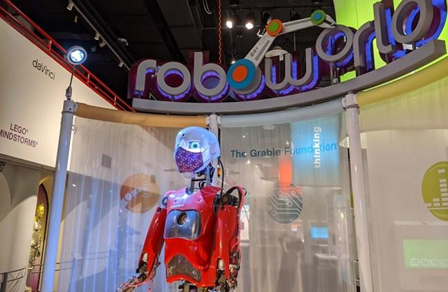The roboworld exhibit at Carnegie Science Center - CP PHOTO: AMANDA WALTZ