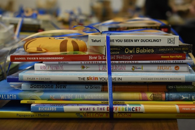 2019 Books for Change donations - UNIVERSITY OF PITTSBURGH OFFICE OF CHILD DEVELOPMENT