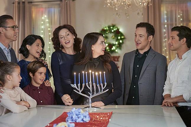 Love, Lights, and Hanukkah! - PHOTO: CROWN MEDIA/FARAH NOSH