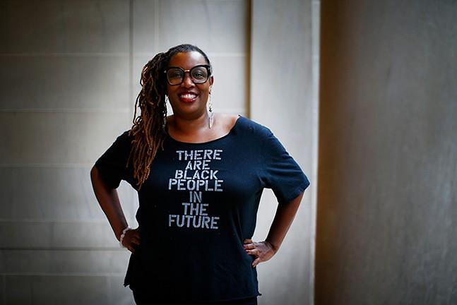 Pittsburgh writer Deesha Philyaw - CP PHOTO: JARED WICKERHAM