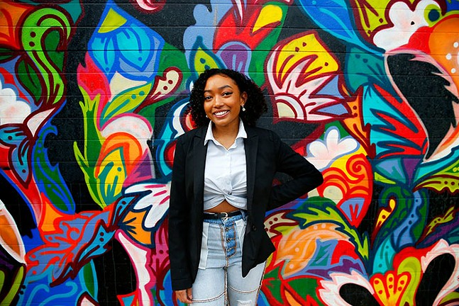 @blackowned.pgh founder Kyley Coleman - CP PHOTO: JARED WICKERHAM