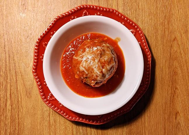LeoGreta's meatball - CP PHOTO: MAGGIE WEAVER