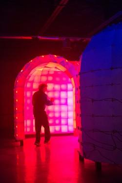 Ian Brill's Psychedelic Monster Maze - PHOTO COURTESY OF RENEE ROSENSTEEL