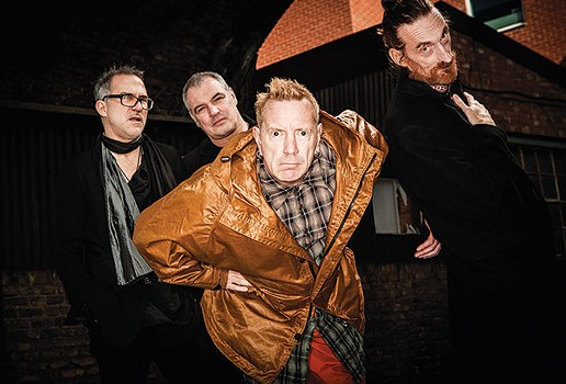 In the face of adversity: John Lydon with Public Image Ltd. - PHOTO COURTESY OF PAUL HEARTFIELD