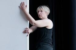 Maria Sheridan rehearses Stay Up at the Alloy Studios. - PHOTO BY HEATHER MULL