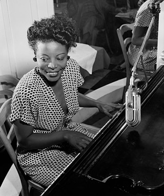 """Pittsburgh's Piano Girl"" Mary Lou Williams - PHOTO: WILLIAM P. GOTTLIEB"