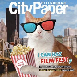 Tiger on the cover of Pittsburgh City Paper's Nov. 11 edition - COVER DESIGN BY LISA CUNNINGHAM; PHOTO BY HEATHER MULL