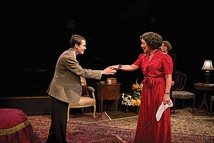 James Curry and Patricia Fuchel in The Grand Manner at Little Lake - PHOTO COURTESY OF HEATHER SPIRIK