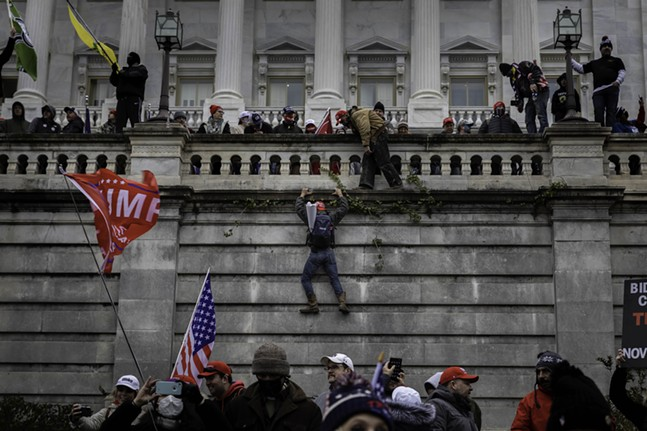On Wed., Jan. 6, 2021, Trump loyalists took control of the U.S. Capitol building. - CP PHOTO: MARANIE R. STAAB