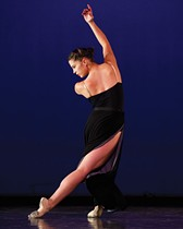 "Alison Geroche in Daniel Karasik's ""Tides"" - PHOTO COURTESY OF JEFF SWENSEN"