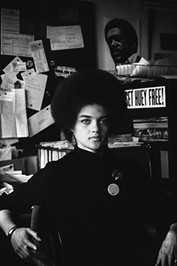 Lady Panther: Kathleen Cleaver, in Oakland in 1968 - PHOTO COURTESY OF JEFFREY BLANKFORT