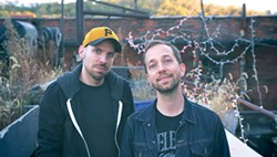 Chris Fafalios (left) and Steve Soboslai - PHOTO COURTESY OF JORDAN TOMB