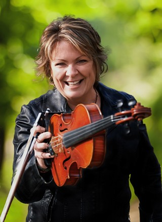 St. Brigid's Day Concert co-host and performer Eileen Ivers - BRIAN MULLIGAN