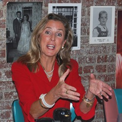 Katie McGinty during a recent campaign stop in Pittsburgh - PHOTO BY RYAN DETO