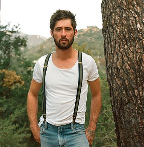 In a happier place: Ryan Bingham - PHOTO COURTESY OF ANNA AXSTER