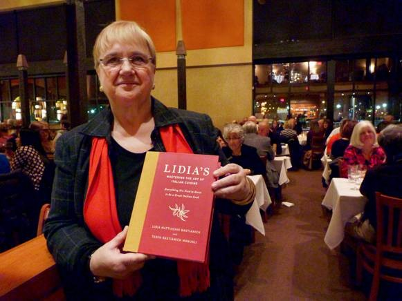 Lidia Bastianich promoted her new cookbook at Lidia's Pittsburgh this past weekend. - PHOTO BY ASHLEY MURRAY