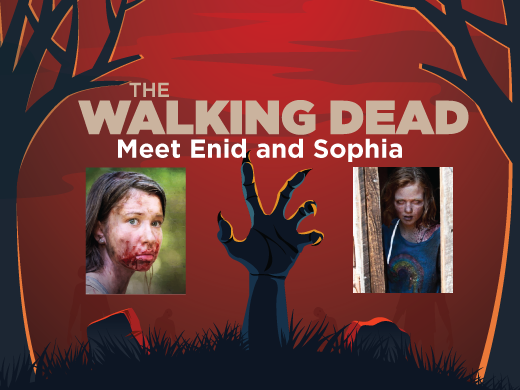 A Central Blood Bank promotion through Jan. 29 allows donors to meet The Walking Dead actresses. - IMAGE COURTESY OF THE CENTRAL BLOOD BANK