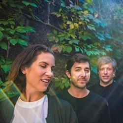 Young Galaxy (left to right: Catherine McCandless, Matthew Shapiro, Stephen Ramsay) - PHOTO COURTESY OF LUKE ORLANDO