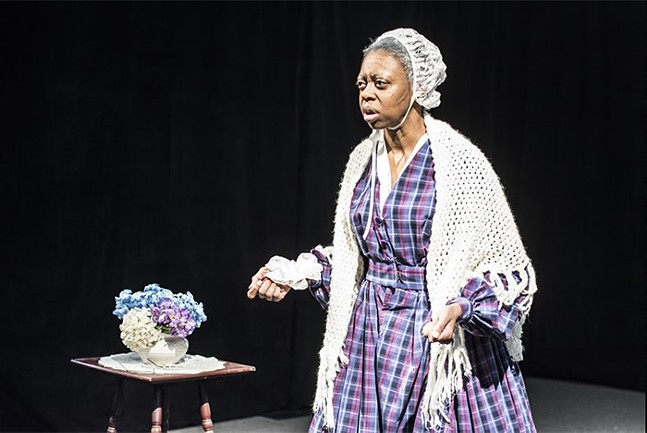 Delana Flowers in Sojourner - PHOTO: PRIME STAGE THEATRE