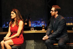 Caroline Nicolian and Luke Halferty in CLO Cabaret's First Date - PHOTO COURTESY OF MATT POLK