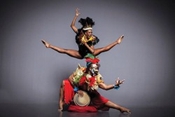 Choreographer Millicent Johnnie's Bamboula: Musicians' Brew - PHOTO COURTESY OF JERRY METELLUS