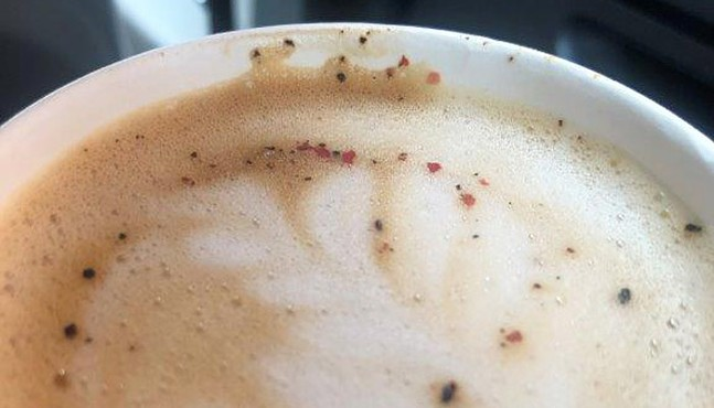 Black Pepper Cardamom Latte from Café D'Amore - CP PHOTO: DANI JANAE