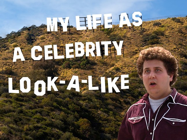 My Life as a Celebrity Look-A-Like podcast - STEVEN SIMS AND JOSH LARKIN