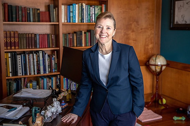 Michele Zollner, academic chair at PTC's School of Business - CP PHOTO: KAYCEE ORWIG