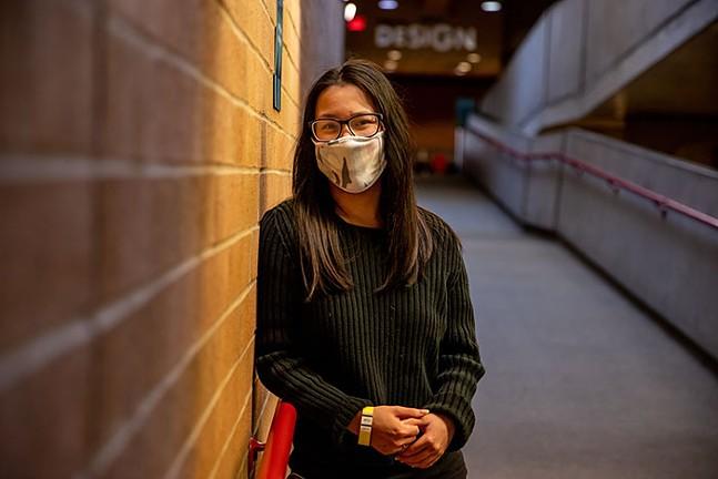 Marita Adams, business major at Pittsburgh Technical College - CP PHOTO: KAYCEE ORWIG
